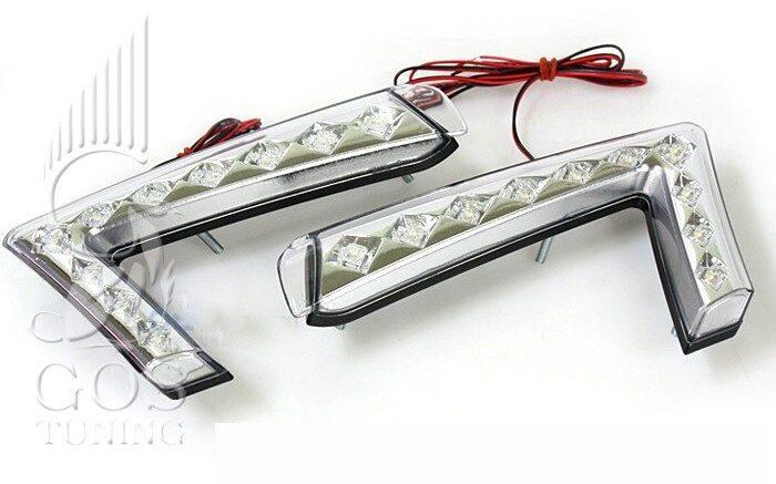 Светодиодные LED ходовые огни «Super i» на автомобиль КИА Церато Форте