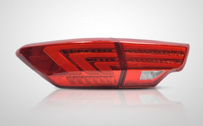 """Купить фонари Toyota Highlander U50 """"Lexus style"""" - ГОС-Тюнинг, Москва"""