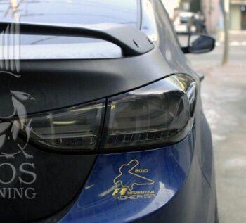 Задние фонари «BMW Design» Smoke на Hyundai Elantra / Avanta