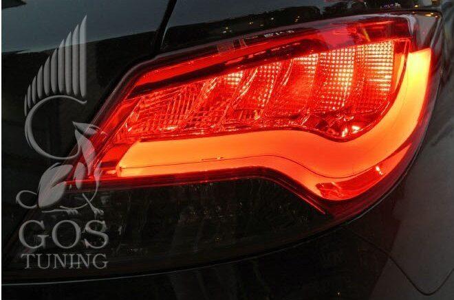 Задние фонари BMW Hyundai Solaris / Хендай Солярис