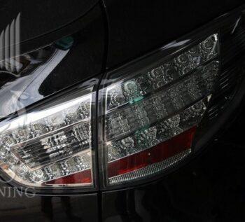 Альтернативные задние фонари «Benz Style» (прозрачные, хром) на автомобиль Hyundai Tucson IX / IX35