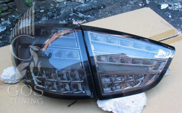 задние фонари BMW Design Black Hyundai IX35