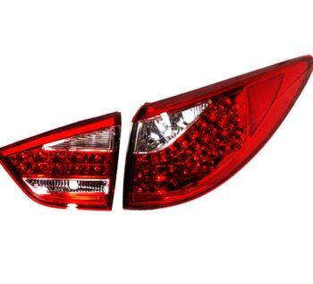 Альтернативные задние фонари «Cayenne Style» (красный хром) на автомобиль Hyundai Tucson IX / IX35
