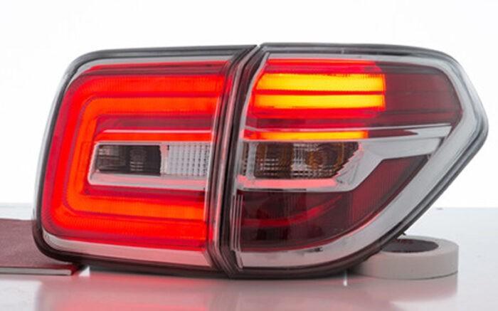 Тонированные задние фонари Nissan Patrol Y62 - ГОС-Тюнинг
