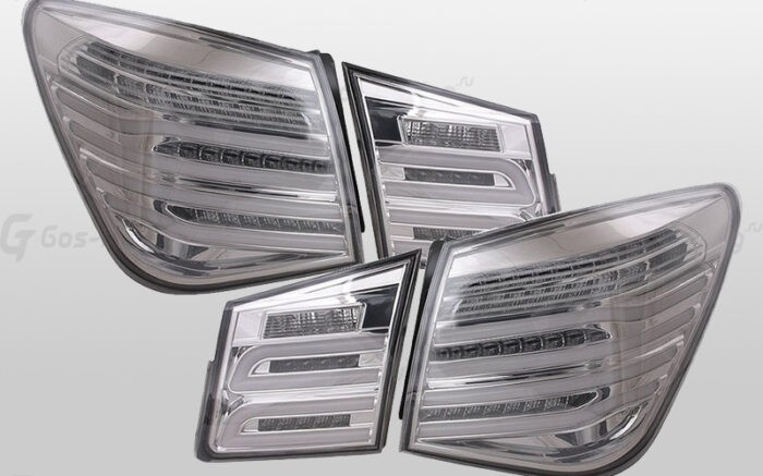 "Купить задние фонари Cruze Chevrolet ""E212 Style - Chrome"""