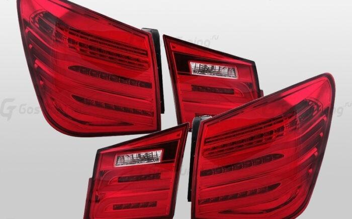 """Задние фонари Круз Шевроле """"E212 Style - Red"""""""