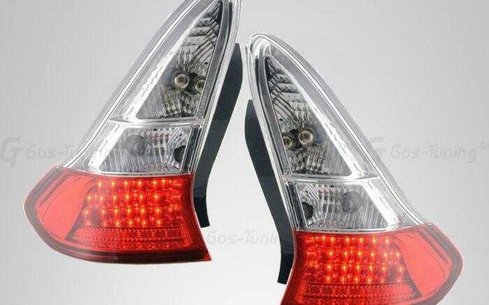 """Задние фонари Citroen C4 3D """"Led Red Smoke"""""""