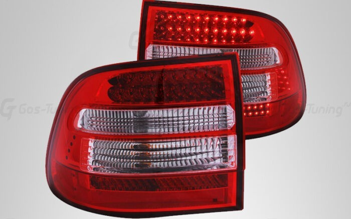 "Тюнинг задние фонари Porshe Cayenne 955 ""Red Led"""