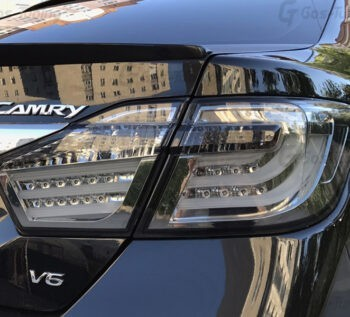 Задние фонари Тойота Камри 50 BMW Style