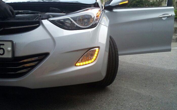 Ходовые огни «Kabis» на автомобиль Hyundai Elantra Avanta MD