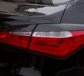 Купить накладки на задние фонари / задние реснички Kia Cerato 3