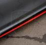 Накладки на пороги Киа Сид 3 cd hatchback r01-1080-3