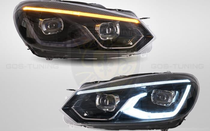 """Фары Гольф 6 Фольксваген """"GTI Style"""""""